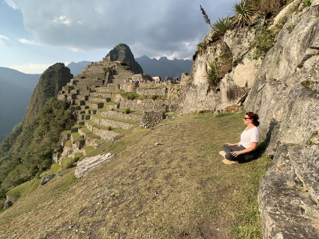 mind meditation Machu Picchu